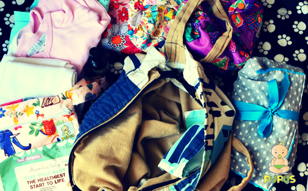 What to put in your diaper bag?