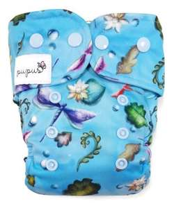 AIO (all in one) Diaper OS 6-15kg - Dragonfly