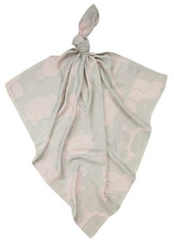 Bamboo colorful diaper Dream 75x75 Animals Powder Pink