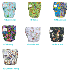 Cloth Diapers Starter Set (-7%)