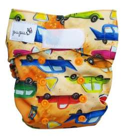 Diaper cover CARS  5-15 kg with VELCRO