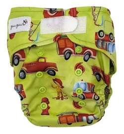 Diaper cover FIREMAN  5-15 kg with VELCRO