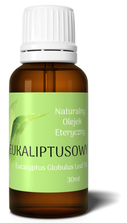 EUCALYPTUS essential oil 100% 30ml