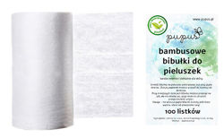 Flushable diaper liners - BAMBOO fibers
