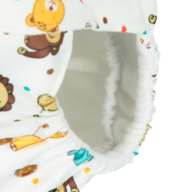 "Pocket diaper ""Animals"", double gussets"