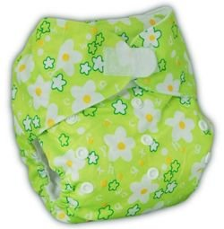 "Pocket diaper ""Spring"", double gussets"