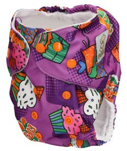 "Pocket diaper ""Sweet"", double gussets"