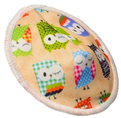 Profiled Breast Pads BEIGE OWLS, 2pcs