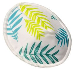 Profiled Breast Pads GREEN LEAVES, 2pcs