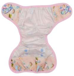 XL 10-20kg Diaper Cover with elastic piping - Unicorns
